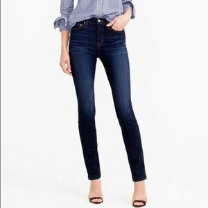J Crew Point Sur High Tower Straight Jean Skinny